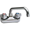 "4"" Center Splash-Mount Faucet with 8"" Spout - AT Faucet"
