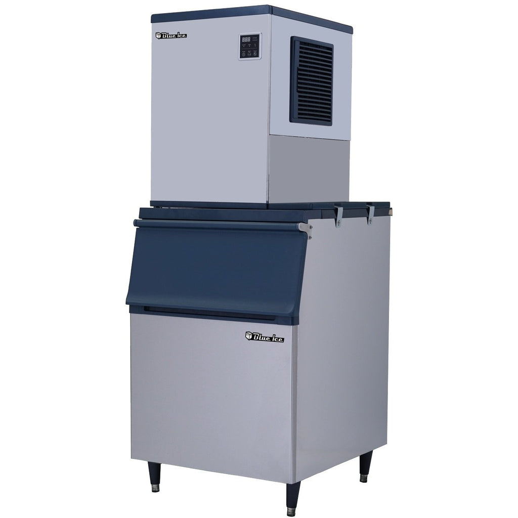 Blue Air Commercial Ice Maker 300 lbs Air-Cooled - AT Faucet Bar & Restaurant Equipment New Jersey