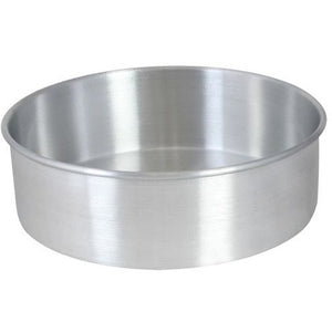 "Commercial Bakery 10"" x 2"" Layer Cake Pan Aluminum - AT Faucet"