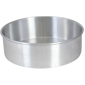 "Commercial Bakery 12"" x 2"" Layer Cake Pan Aluminum - AT Faucet"