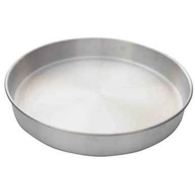 "Commercial Bakery 14"" x 2"" Layer Cake Pan Aluminum - AT Faucet"