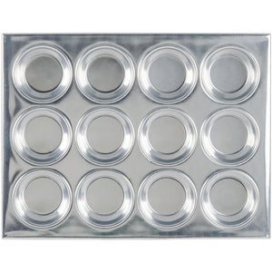 Thunder Group 12 Cup Muffin Pan 3.5 Oz. Pack of 12 - AT Faucet