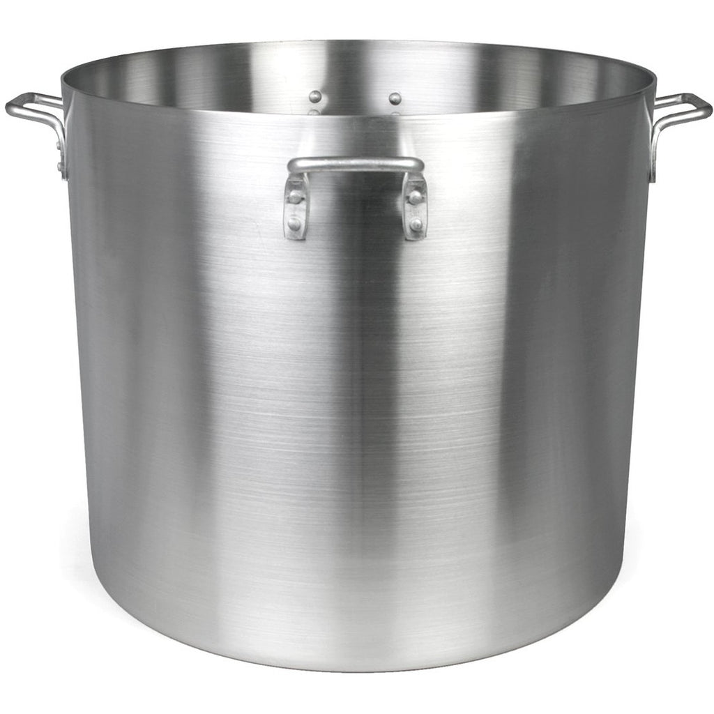 Commercial Kitchen 120 Qt. Aluminum Stock Pot - AT Faucet