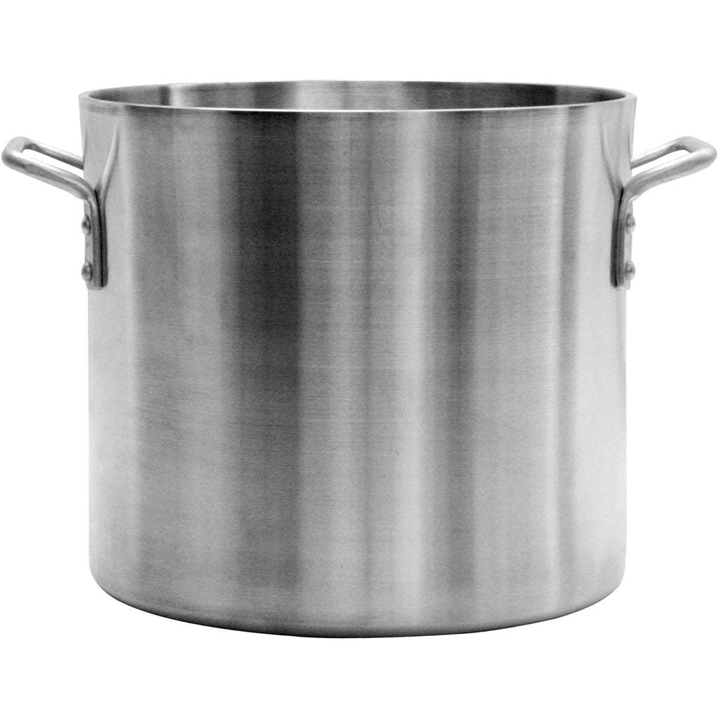 Commercial Kitchen 80 Qt. Aluminum Stock Pot - AT Faucet