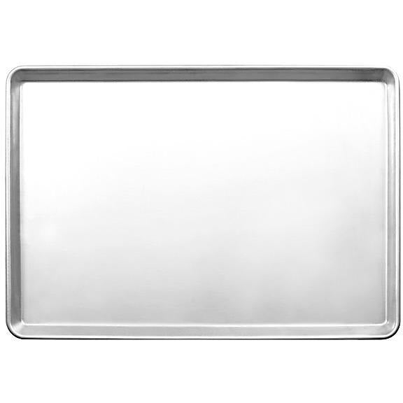 "Commercial Bakery 18"" x 13"" Half Size Aluminum Sheet Pan Pack of 12 - AT Faucet"