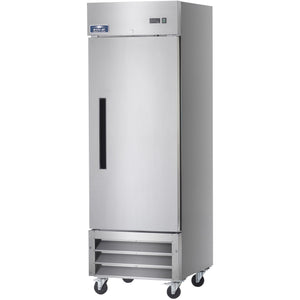 "Commercial Kitchen Single Door Reach-In Refrigerator 27"" - AT Faucet"