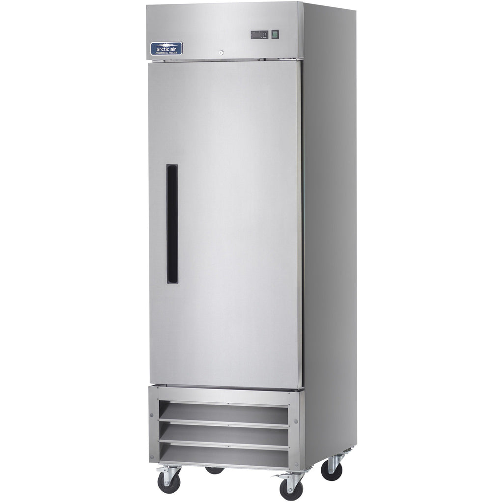 "Arctic Air Commercial Kitchen Single Door Reach-In Freezer 27"" - AT Faucet"