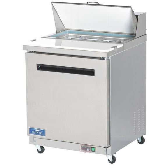 "Arctic Air Commercial Kitchen Refrigerated Sandwich / Salad Prep Table 29"" - AT Faucet"