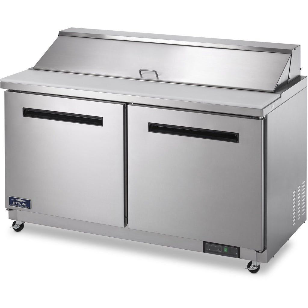 "Arctic Air Commercial Kitchen Refrigerated Sandwich / Salad Prep Table 60"" - AT Faucet"
