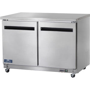"Arcitc Air Commercial Kitchen 2 Door Undercounter Freezer 49"" - AT Faucet"