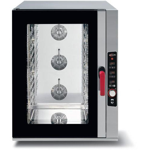"Commercial Heavy Duty Countertop Electric Combi Oven with Digital Controls 39"" & 4 Shelves - AT Faucet"