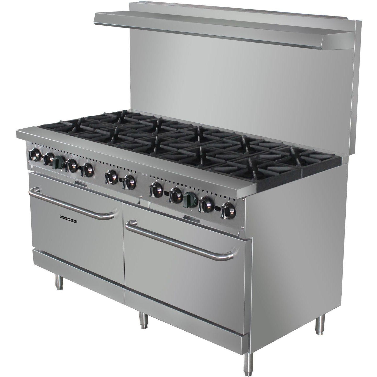 Commercial Kitchen 10 Burner Gas Range Natural Gas 60\