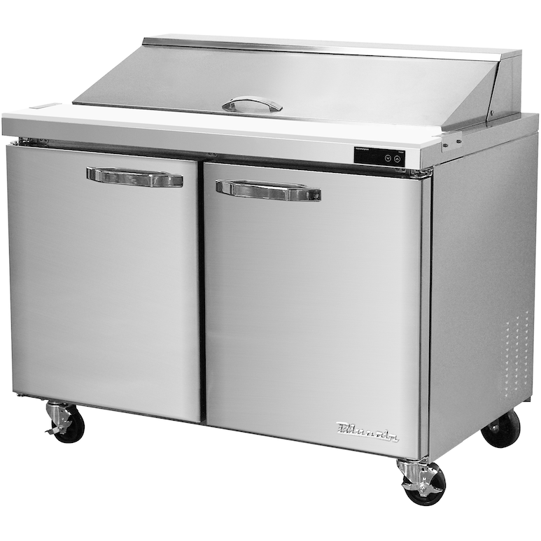 "Blue Air Heavy Duty 9.5 Cu. Ft. Refrigerated Sandwich Prep Table 36"" - AT Faucet"
