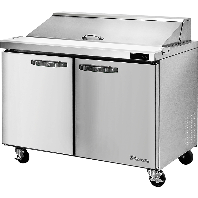 "Blue Air Heavy Duty 16.7 Cu. Ft. Refrigerated Sandwich Prep Table 60"" - AT Faucet"