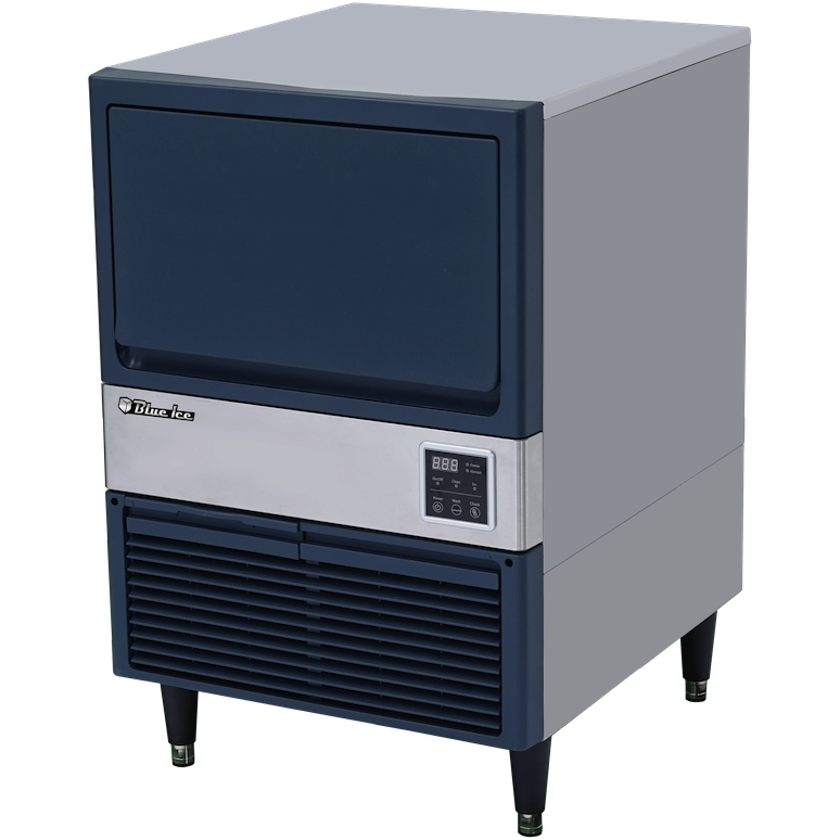 Blue Air Commercial Undercounter Ice Maker 150 lbs with Storage Air-Cooled - AT Faucet Bar & Restaurant Equipment New Jersey