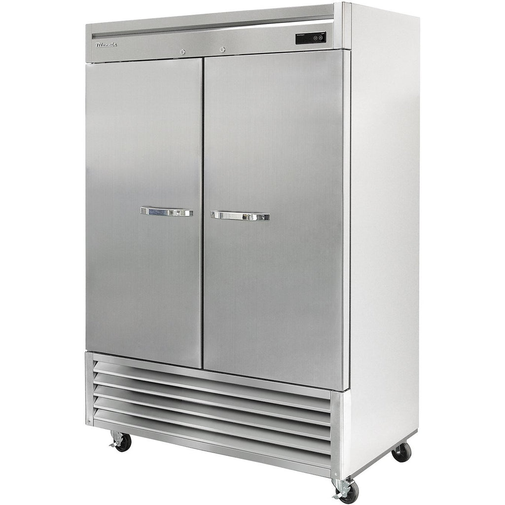 "Commercial Heavy Duty 49 Cu. Ft. 2 Door Reach-In Refrigerator 54"" Bottom Mount Compressor - AT Faucet Bar & Restaurant Equipment New Jersey"