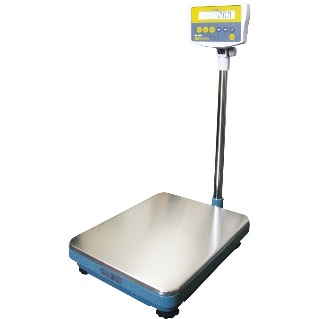 Commercial 120 Lb. Simple Bench Scale Easy Weigh - AT Faucet