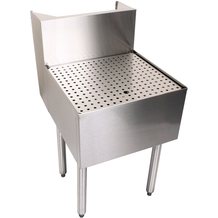"Glastender C-BD-36 Stainless Steel Beer Drainer 36"" - AT Faucet"