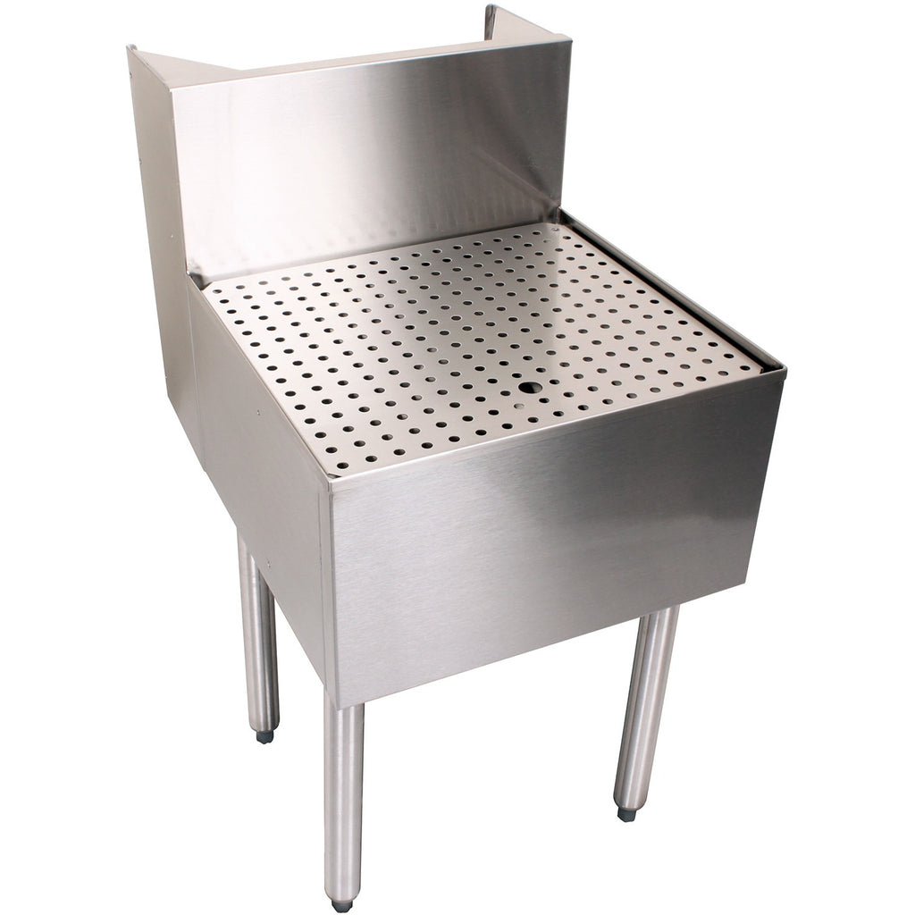"Glastender C-BD-24 Stainless Steel Beer Drainer 24"" - AT Faucet"