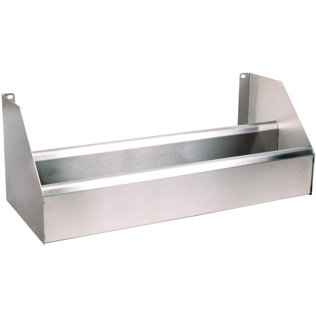 "Glastender Stainless Steel Underbar Double Speed Rail 18"" - AT Faucet"
