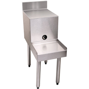 "Glastender Stainless Steel Filler Board Blender Station 18"" - AT Faucet"
