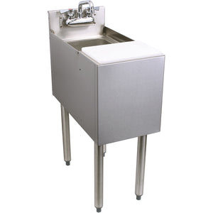 "Glastender C-MFS-12 Stainless Steel Mixology Unit 12"" - AT Faucet"