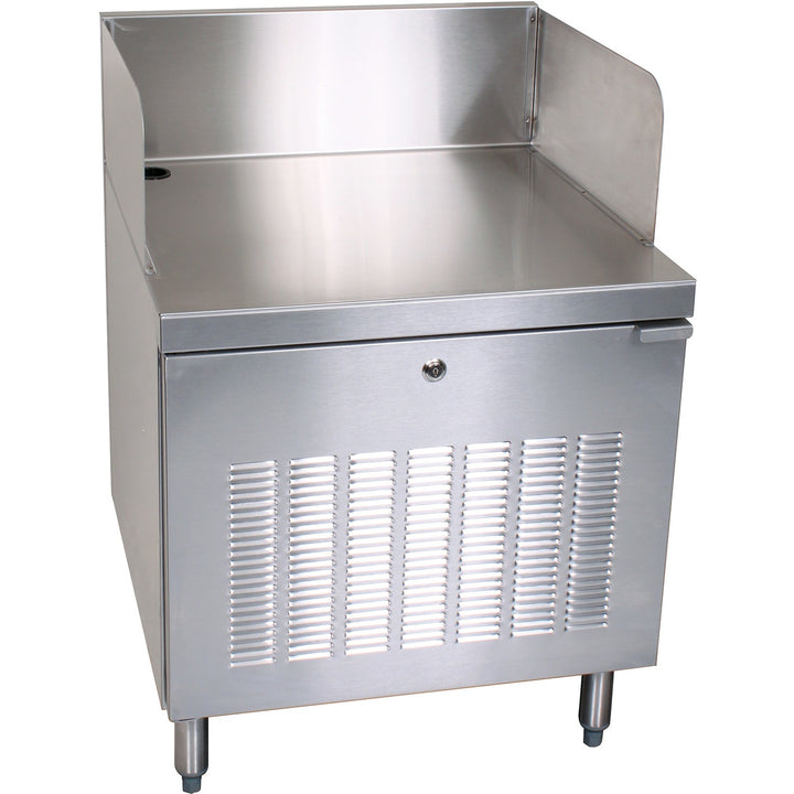 "Glastender C-PCB-24 Stainless Steel POS Cabinet 24"" - AT Faucet"