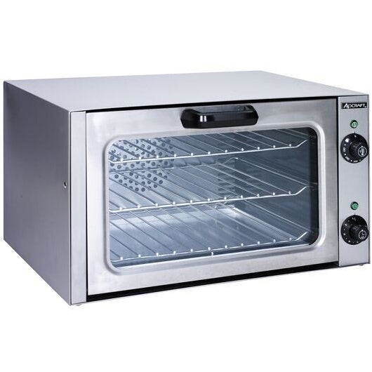 Stainless Steel Countertop Convection Oven Quarter Size - AT Faucet