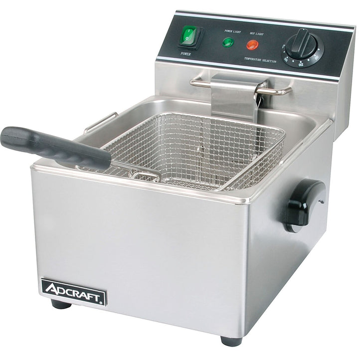 Commercial Kitchen Countertop Electric Single Tank Deep Fryer 6L - AT Faucet