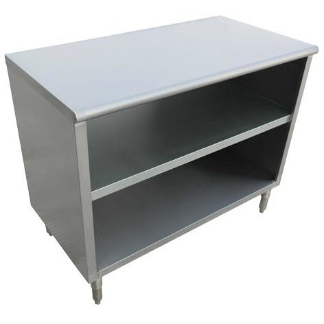 "Stainless Steel Dish Cabinet 18"" x 36"" x 36""H - AT Faucet"
