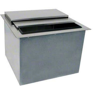 "Glastender Commercial 18"" Drop-In Ice Bin DI-IB18 - AT Faucet"