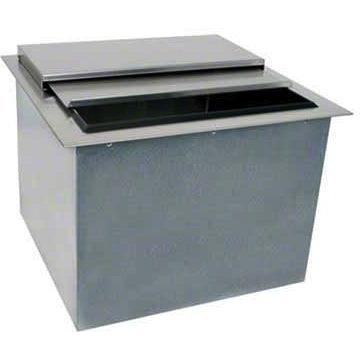 "Glastender Commercial 24"" Drop-In Ice Bin DI-IB24 - AT Faucet"