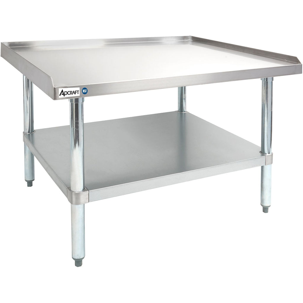 "Commercial Kitchen Stainless Steel Heavy Duty Equipment Stand 30"" x 36"" - AT Faucet"