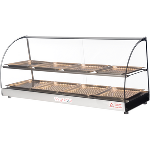 "Commercial Countertop Food Warmer Display Case 44"" - AT Faucet"