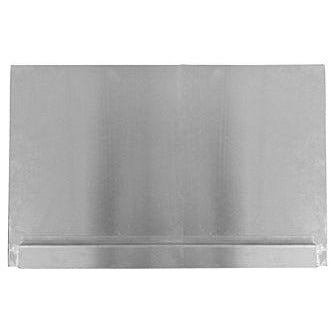 Adcraft Stainless Steel Splashguard for Deep Fryer - AT Faucet