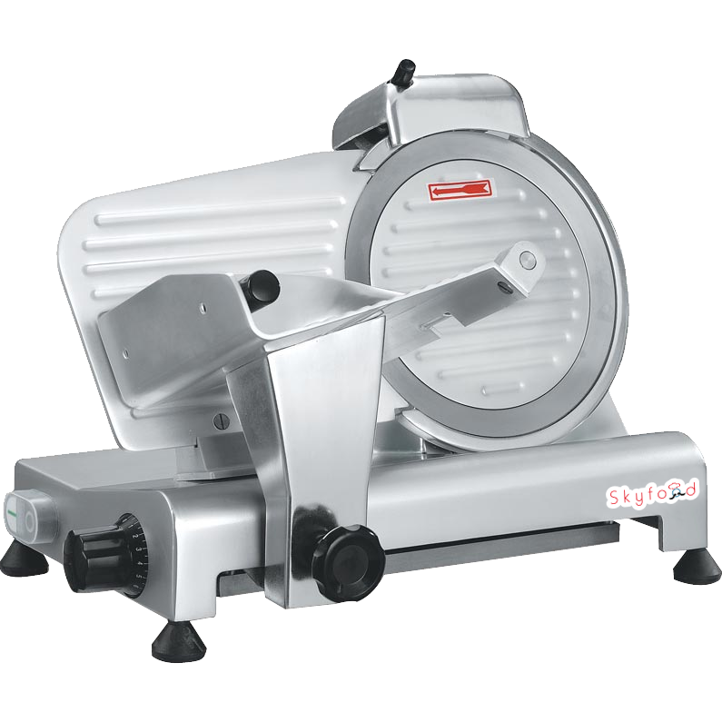 "Commercial Kitchen Meat Slicer 10"" with 1/3 Horsepower NSF & ETL Certified - AT Faucet"