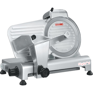 "Commercial Kitchen Economy Meat Slicer 10"" with 1/3 Horsepower - AT Faucet"