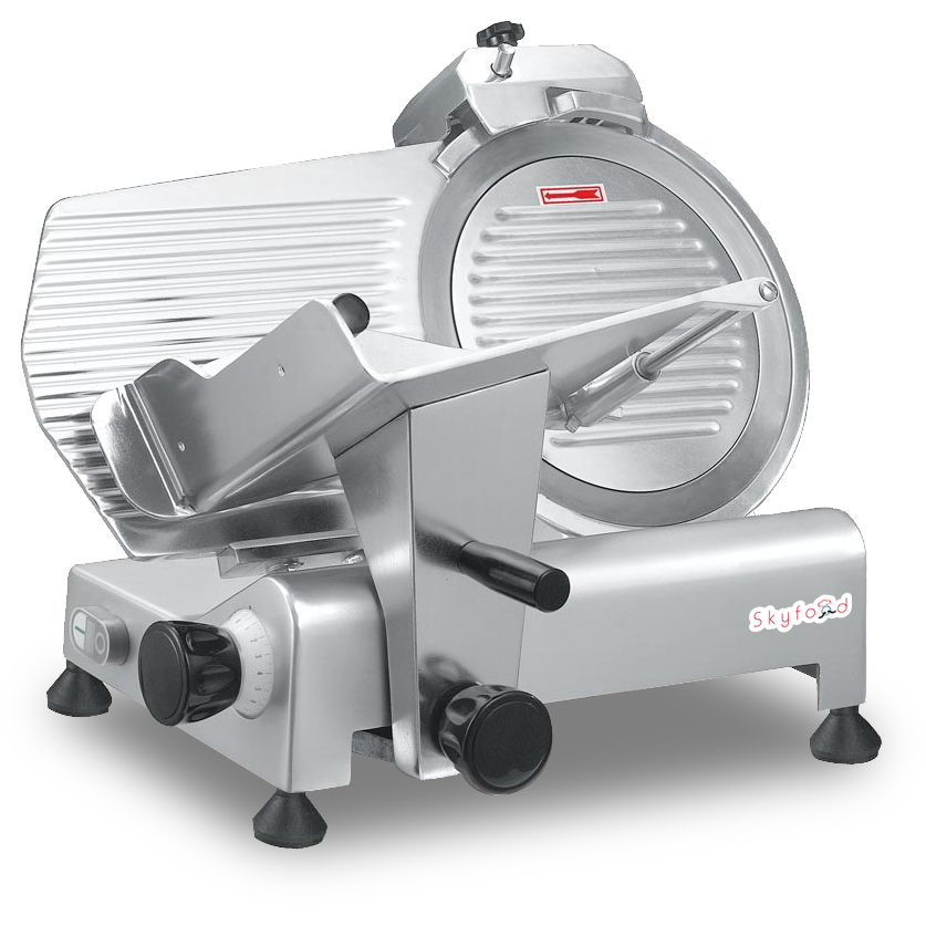 "Commercial Kitchen Meat Slicer 12"" with 1/3 Horsepower NSF & ETL Certified - AT Faucet"