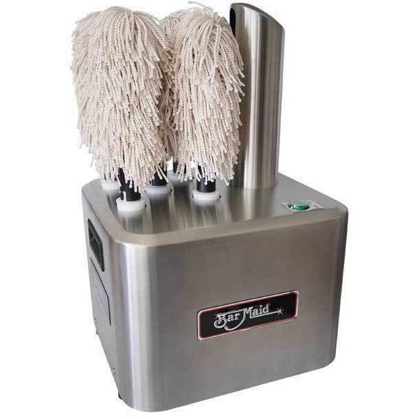 Bar Maid Electric Glass Polisher GP-100 with 5 Polishing Heads - AT Faucet
