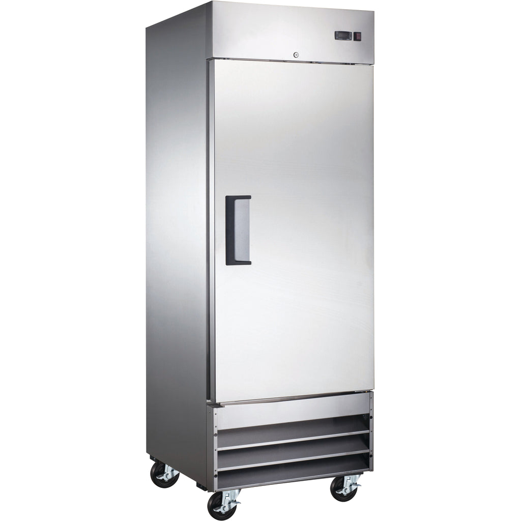 "Commercial Kitchen 23 Cu. Ft. Single Door Reach-In Freezer 29"" - AT Faucet"