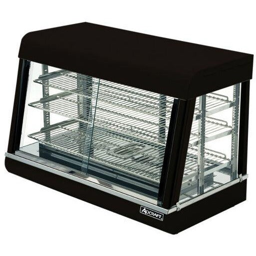 "Commercial Countertop Heated Display Food Warmer 36"" - AT Faucet"