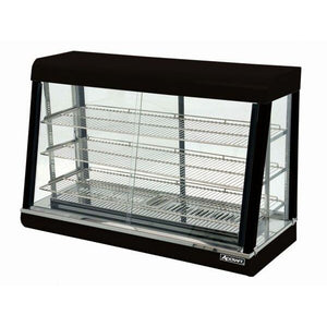 "Commercial Countertop Heated Display Food Warmer 48"" - AT Faucet"