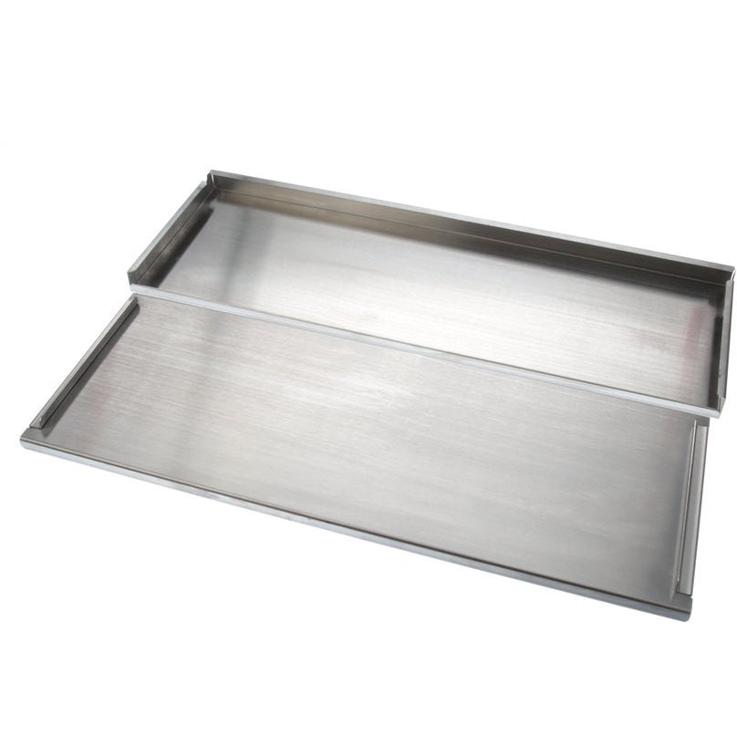 "Glastender IBCA-42 Stainless Steel Ice Bin Cover 42"" - AT Faucet"