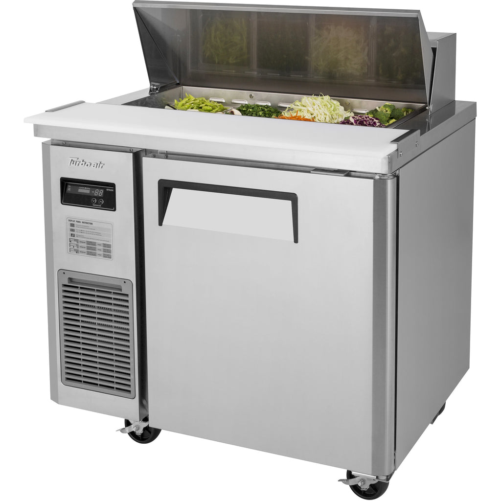 "Turbo Air J Series Commercial Refrigerated Sandwich / Salad Prep Table 36"" - AT Faucet"
