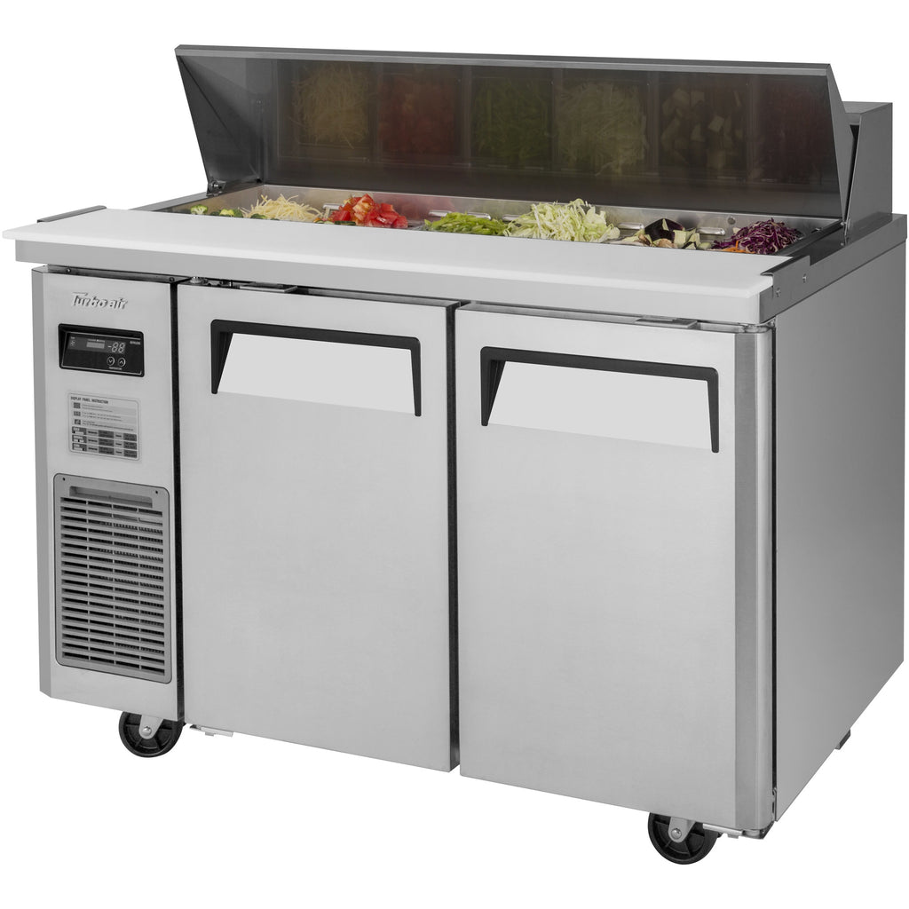 "Turbo Air J Series Commercial Refrigerated Sandwich / Salad Prep Table 47"" - AT Faucet"
