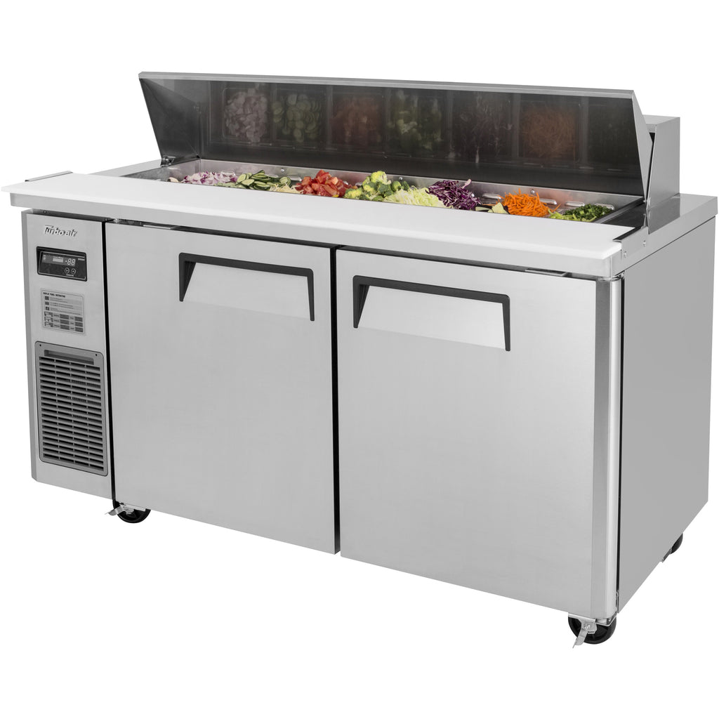 "Turbo Air J Series Commercial Refrigerated Sandwich / Salad Prep Table 59"" - AT Faucet"