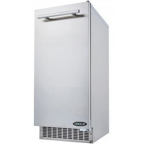 Kool-It Commercial Undercounter Outdoor Ice Maker 66 lbs - AT Faucet