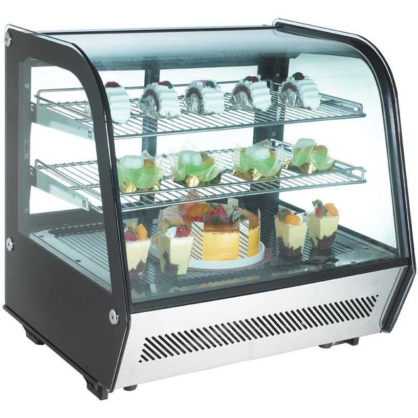 "Commercial Countertop Refrigerated Display Case 28"" - AT Faucet"