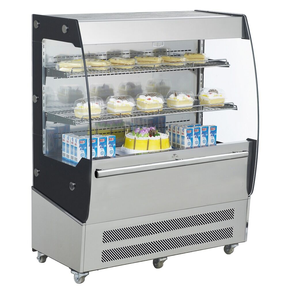 "Commercial Open Refrigerated Merchandiser Grab and Go Display Case 40"" - AT Faucet"
