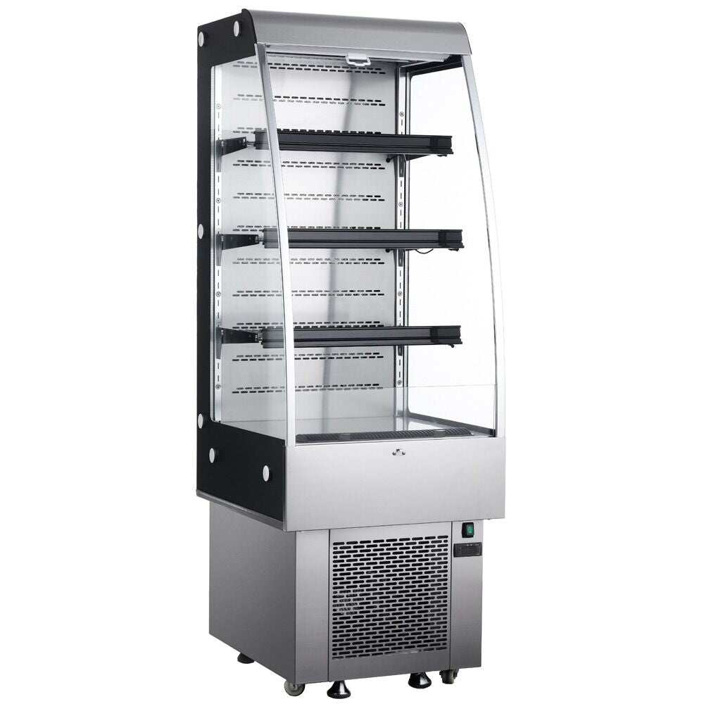 "Commercial Open Refrigerated Merchandiser Grab and Go Display Case 24"" - AT Faucet"